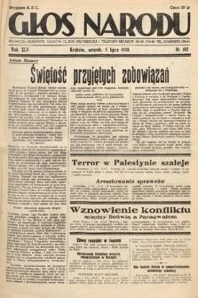 Głos Narodu. 1938, nr182