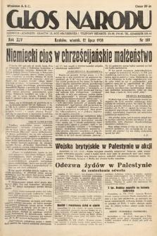 Głos Narodu. 1938, nr189