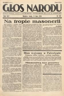 Głos Narodu. 1938, nr190