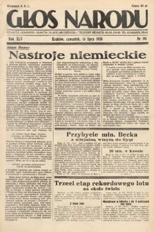 Głos Narodu. 1938, nr191