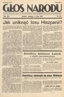 Głos Narodu. 1938, nr194