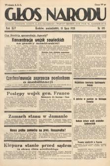 Głos Narodu. 1938, nr195