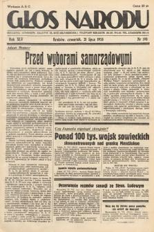 Głos Narodu. 1938, nr198