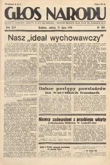 Głos Narodu. 1938, nr200