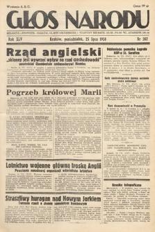 Głos Narodu. 1938, nr202