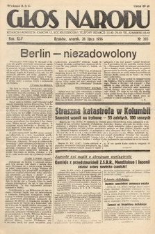 Głos Narodu. 1938, nr203