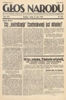 Głos Narodu. 1938, nr204