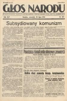 Głos Narodu. 1938, nr205