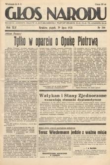 Głos Narodu. 1938, nr206