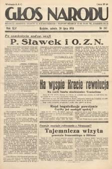 Głos Narodu. 1938, nr207