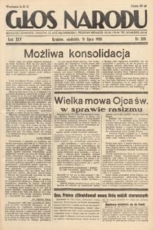 Głos Narodu. 1938, nr208
