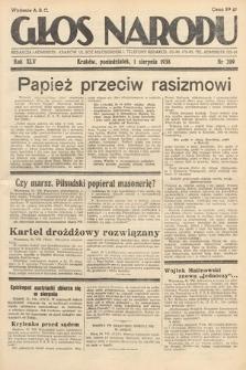 Głos Narodu. 1938, nr209