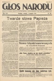 Głos Narodu. 1938, nr210