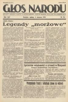 Głos Narodu. 1938, nr214