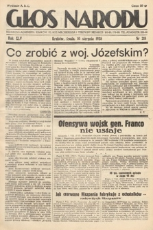 Głos Narodu. 1938, nr218