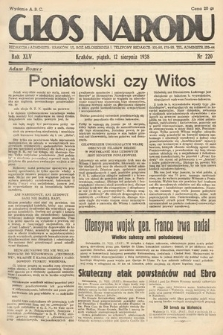 Głos Narodu. 1938, nr220