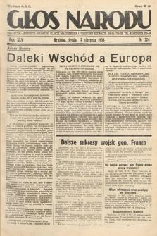 Głos Narodu. 1938, nr224
