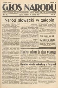 Głos Narodu. 1938, nr228
