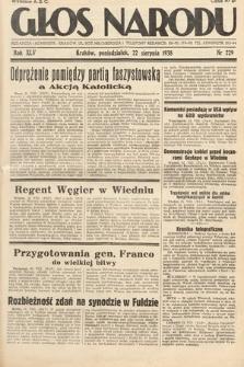 Głos Narodu. 1938, nr229