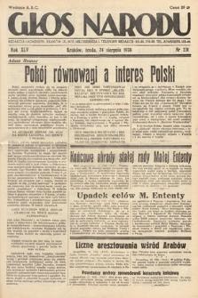 Głos Narodu. 1938, nr231