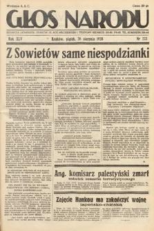 Głos Narodu. 1938, nr233