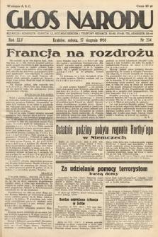 Głos Narodu. 1938, nr234