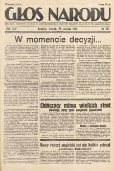 Głos Narodu. 1938, nr237