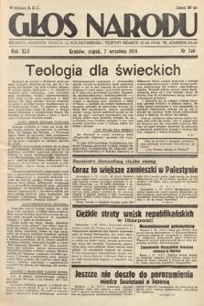 Głos Narodu. 1938, nr240