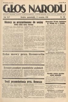 Głos Narodu. 1938, nr250