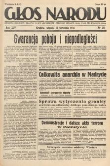 Głos Narodu. 1938, nr251