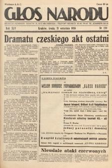 Głos Narodu. 1938, nr259