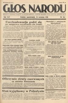 Głos Narodu. 1938, nr264