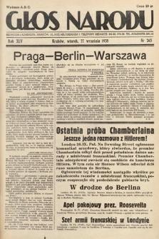 Głos Narodu. 1938, nr265