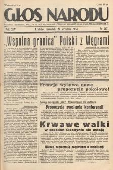 Głos Narodu. 1938, nr267