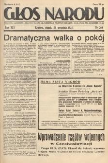 Głos Narodu. 1938, nr268