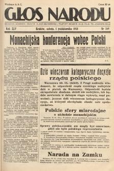 Głos Narodu. 1938, nr269