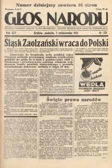 Głos Narodu. 1938, nr270