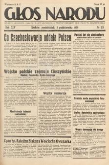 Głos Narodu. 1938, nr271