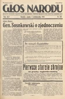 Głos Narodu. 1938, nr275