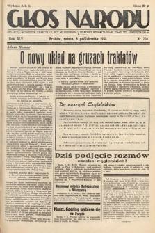 Głos Narodu. 1938, nr276