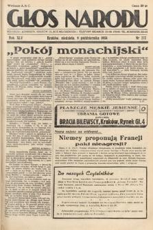 Głos Narodu. 1938, nr277