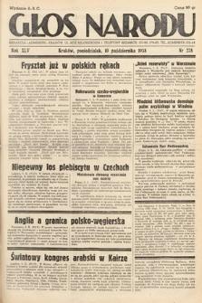 Głos Narodu. 1938, nr278