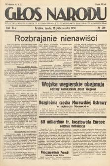 Głos Narodu. 1938, nr280