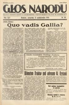 Głos Narodu. 1938, nr281