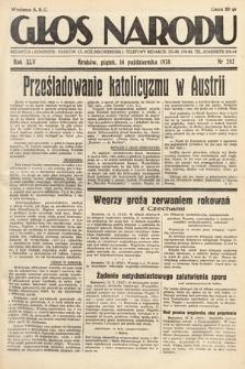 Głos Narodu. 1938, nr282