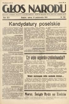 Głos Narodu. 1938, nr283