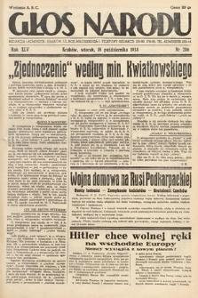 Głos Narodu. 1938, nr286