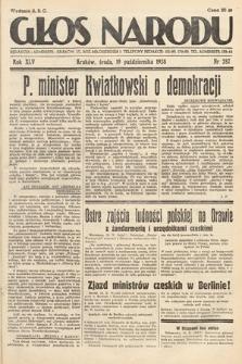 Głos Narodu. 1938, nr287