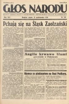 Głos Narodu. 1938, nr289