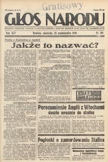 Głos Narodu. 1938, nr291